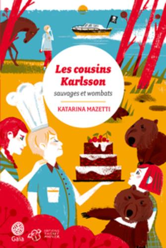 """Afficher """"Les cousins Karlsson Tome 2 - Sauvages et Wombats"""""""